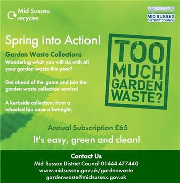 - Garden Waste Collections